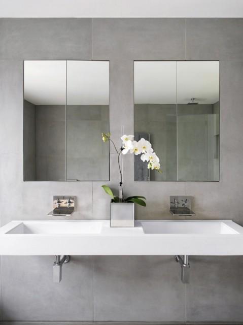 Een minimalistische badkamer in 10 stappen moeders minimalisme - Badkamer in m ...